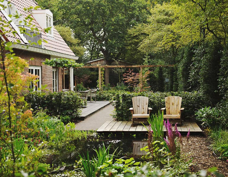 Boekel tuinen tuinarchitect for Tuinarchitect kleine tuin